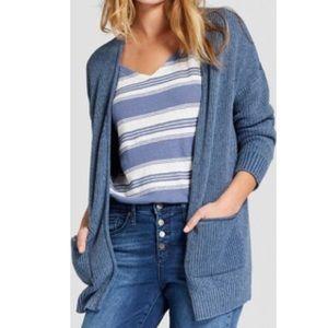 Universal Threads • Muted Blue Oversized Cardigan